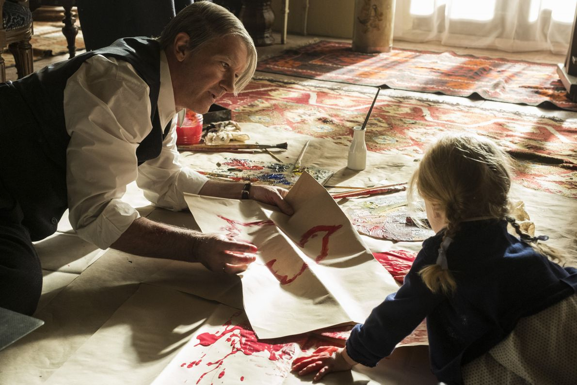 Antonio Banderas sur le tournage de la saison 2 de GENIUS consacrée au peintre espagnol Pablo ...