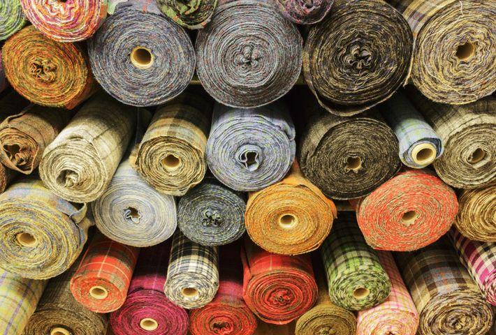Laine, teinture, design, tissage...dans le Harris tweed, tout est made on island !