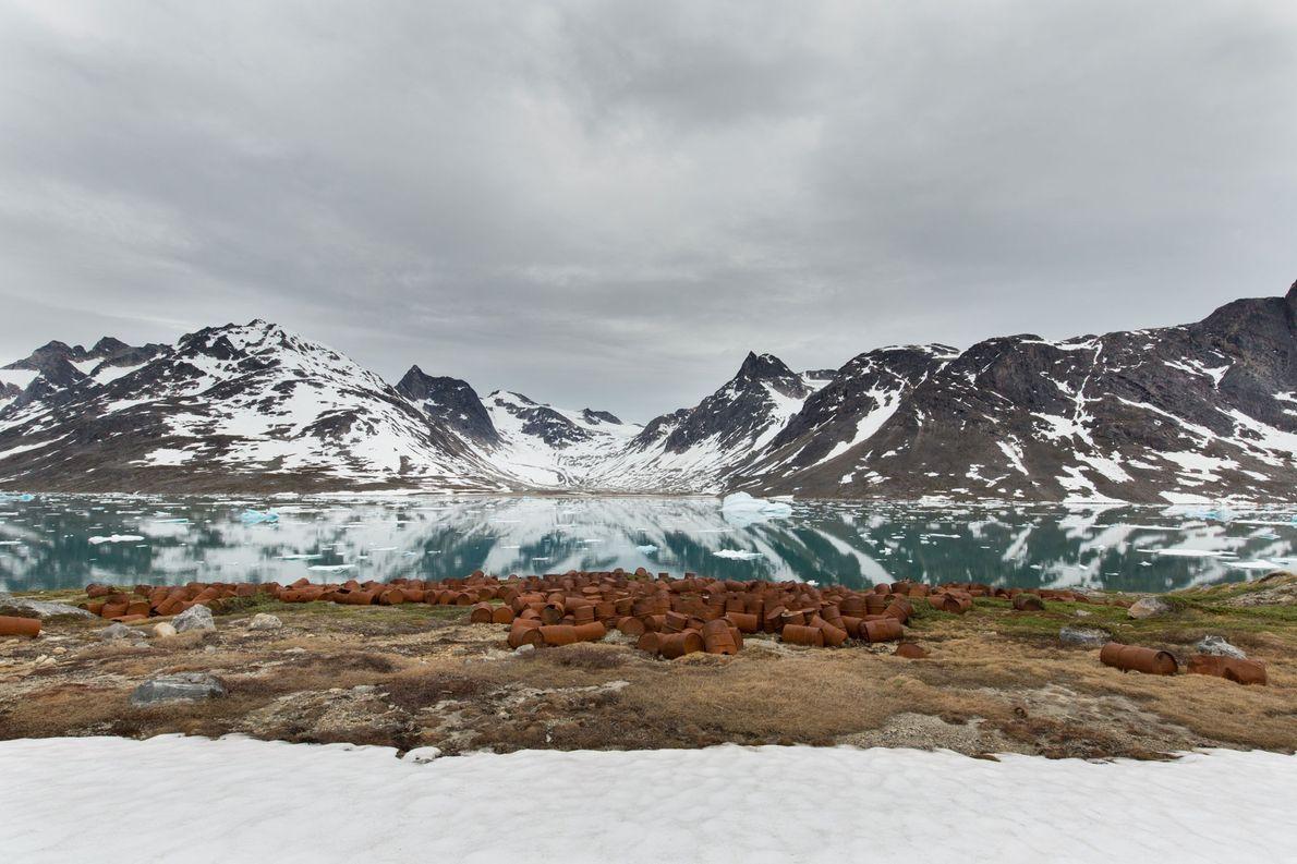 Au Groenland, des déchets toxiques s'échappent d'une ancienne base nucléaire