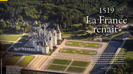 Représentation de la cité idéale et incarnation de la puissance du roi, le château de Chambord ...