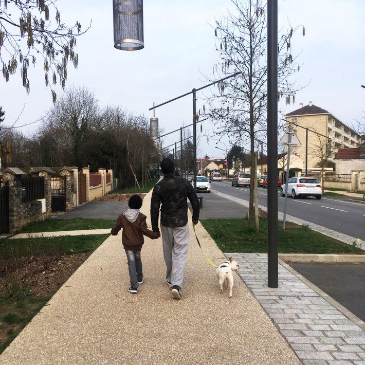 """Bois d'Arcy, photo d'Élia Quint. """"Le dimanche, dans ma petite ville de banlieue parisienne (Yvelines), on ..."""