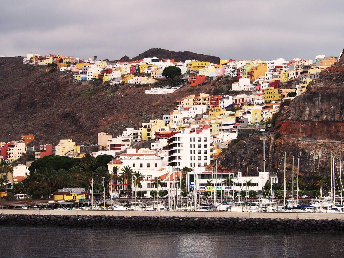 La ville de San Sebastián est la capitale de l'île de la Gomera dans l'archipel des ...