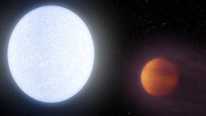 Du fer et du titane ont été découverts dans l'atmosphère de l'exoplanète KELT-9b