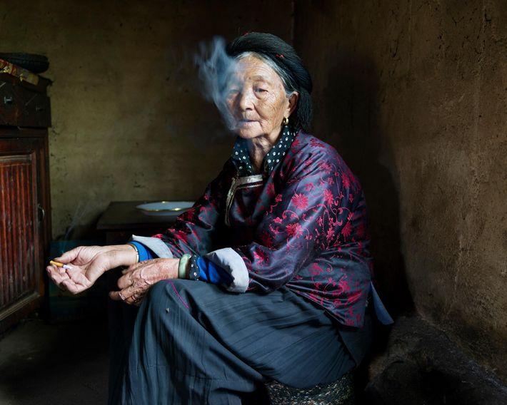 """Sada Dorma, 77 ans, est originaire du village de Yixi : """"Il y a quelques années, ..."""