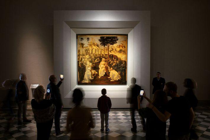 Récemment restauré, L'Adoration des mages révèle des coups de pinceau, des couleurs et des détails longtemps ...