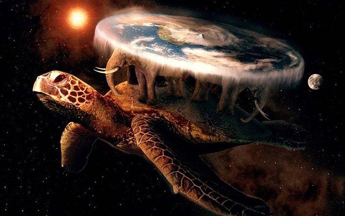 Le disque monde de Terry Pratchet