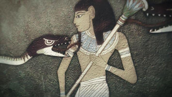 Le passage dans l'au-délà dans l'egypte ancienne
