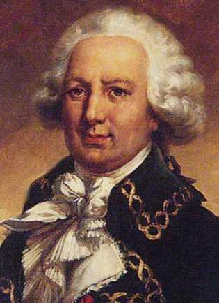 Portrait de Louis-Antoine Bougainville (1729-1811) par Jean-Pierre Franque. L'un des premiers colons à s'établir en 1764 ...