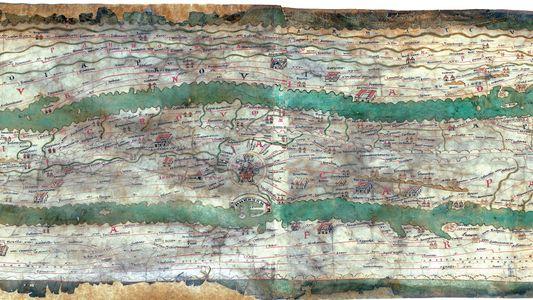 Sur cette carte antique, tous les chemins menaient vraiment à Rome