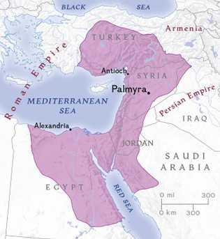 En consolidant les conquêtes de son époux contre les Perses, Zénobie profite dès 268 de la ...