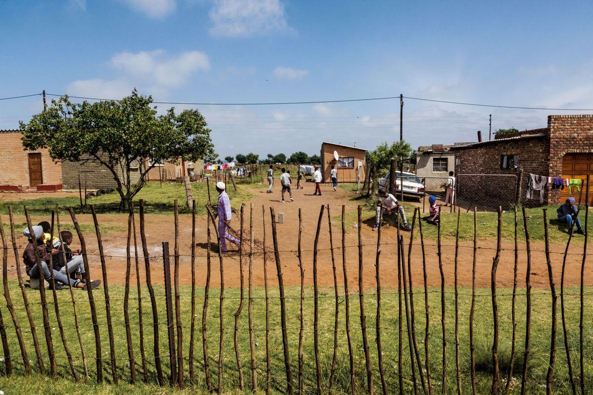 Ermelo, Afrique du Sud MARTIN LUTHER KING STREET. « Le problème de l'injustice raciale ne se ...