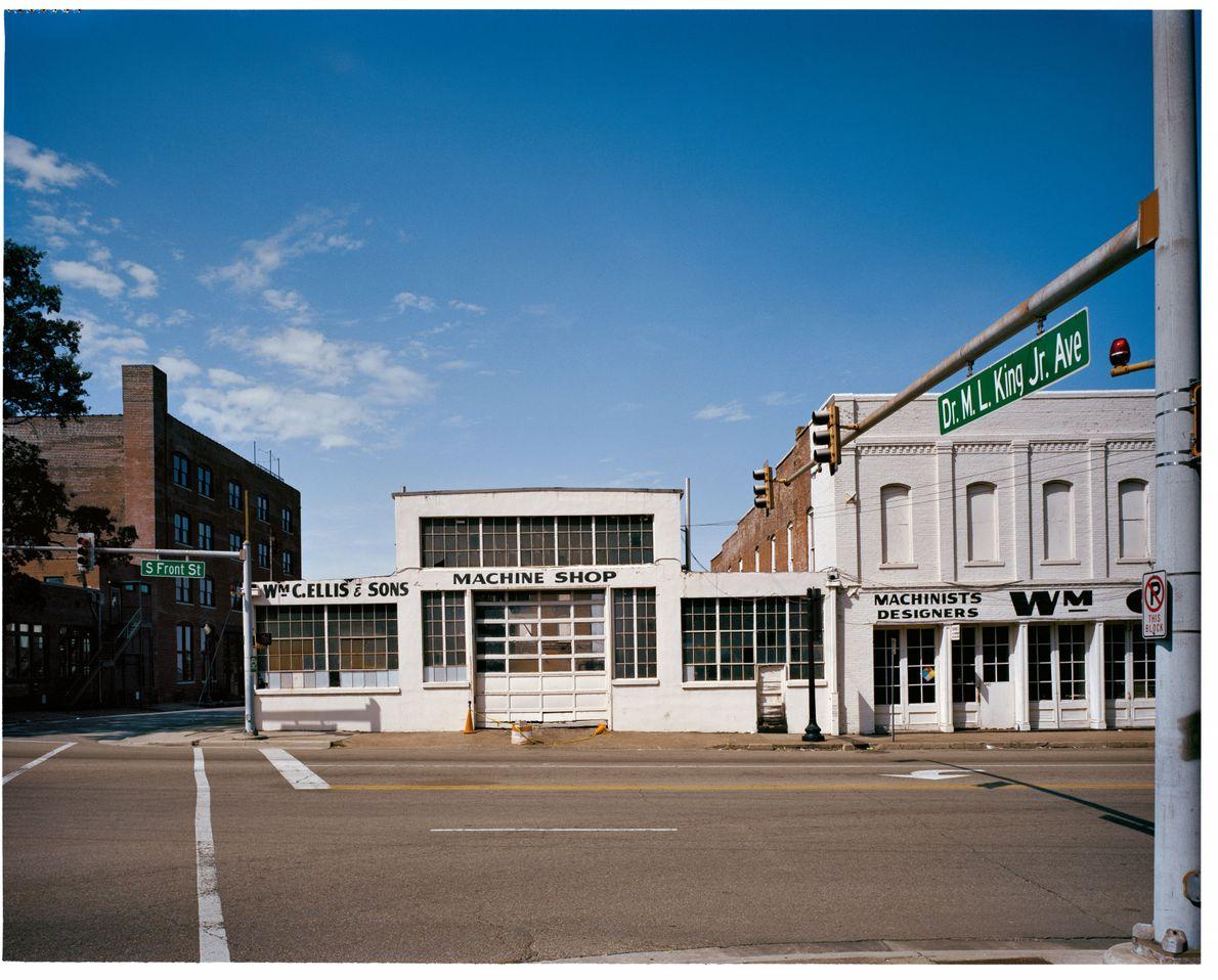 Memphis, États-Unis DR. M. L. KING JR. AVENUE. Renommée en 2012. À quelques pâtés de maisons ...