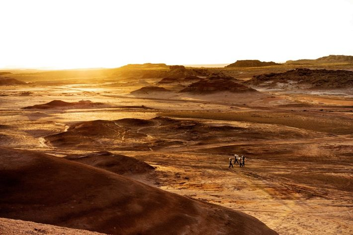 La Mars Society, une association à but non lucratif fondée en 1998, dirige un centre de ...