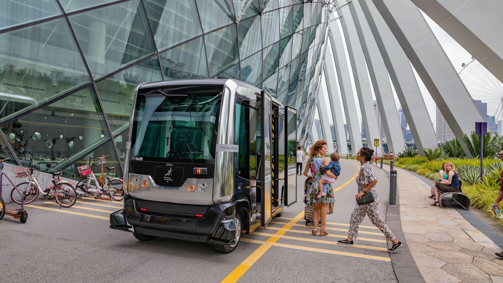 Comment nous déplacerons-nous dans les villes du futur ? Une possibilité prometteuse : le minibus sans ...