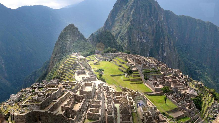 Les chasquis ou messagers empruntaient des chemins comme ceux menant au Machu Picchu pour acheminer le ...