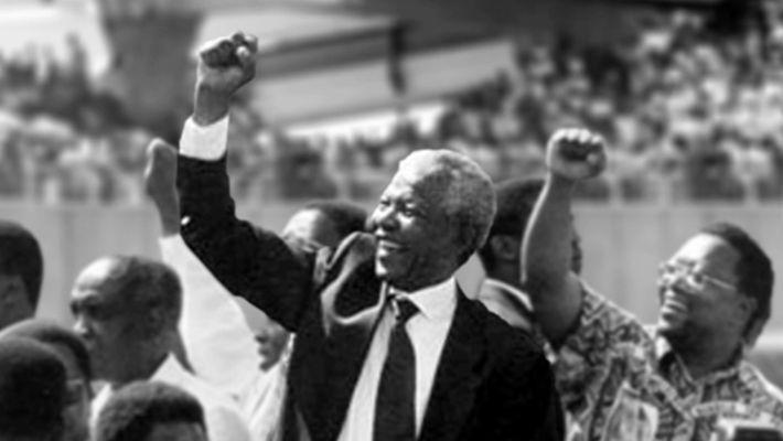 25e anniversaire de l'élection de Nelson Mandela
