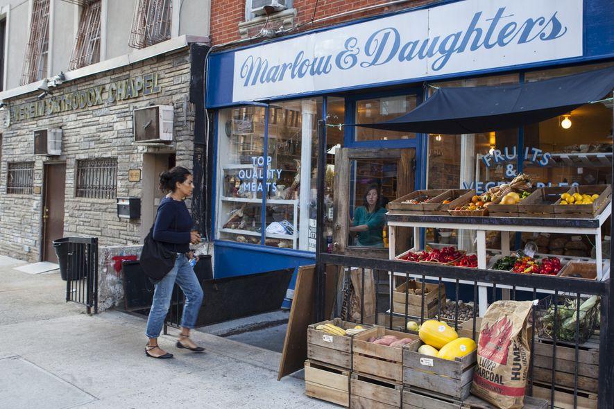 À Brooklyn, les épicerie de quartier — et les restaurants branchés —, s'approvisionnent dans les fermes ...