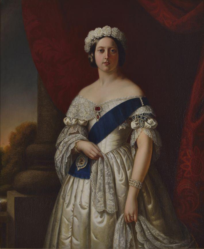 Portrait de la reine Victoria réalisé par Alexander Melville.