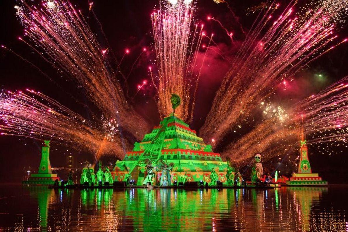 Le fascinant « Festival de la luz y la vida » (festival des lumières et de ...