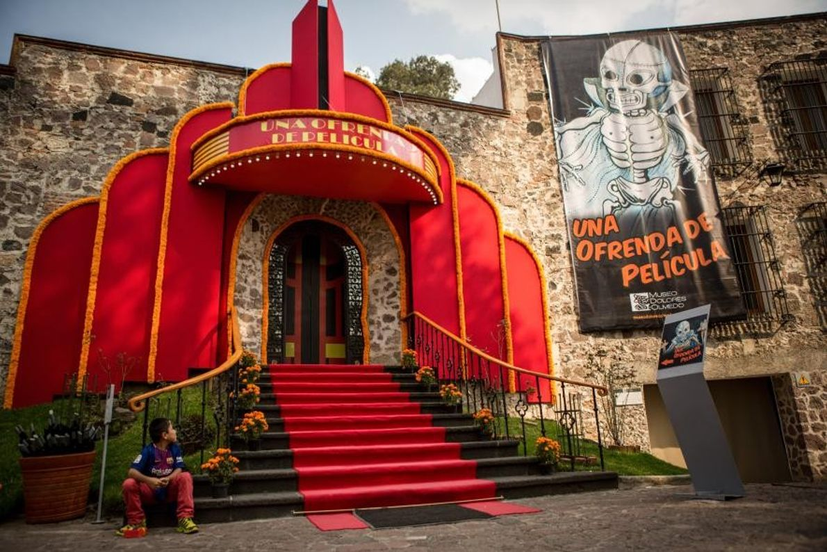 Situé à Xochimilco, au sud de la capitale mexicaine, le musée Dolores Olmedo Patiño se trouve ...