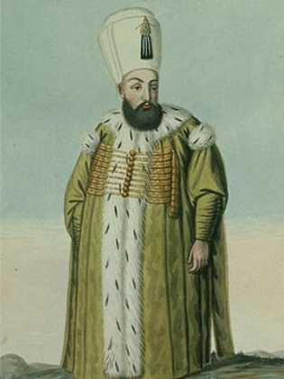 Murad III, le sultan de l'empire ottoman, écrivait à Elisabeth des lettres recouvertes d'or.