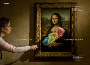 Selon les théories actuelles, la Mona Lisa de Leonard de Vinci représenterait Lisa Gherardini, la femme ...
