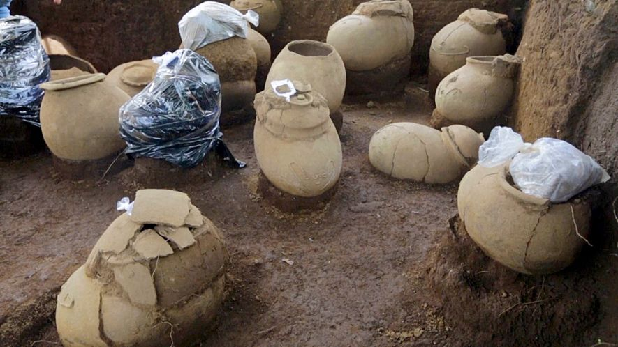 Des restes humains mis au jour sur un site vieux de 1000 ans