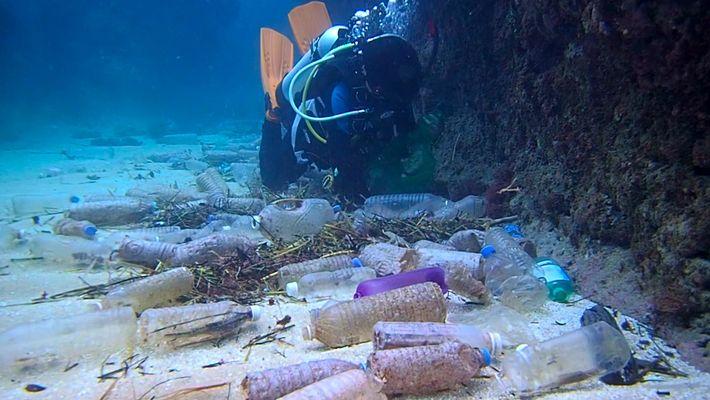 Voici la quantité de plastique qui recouvre le fond des océans
