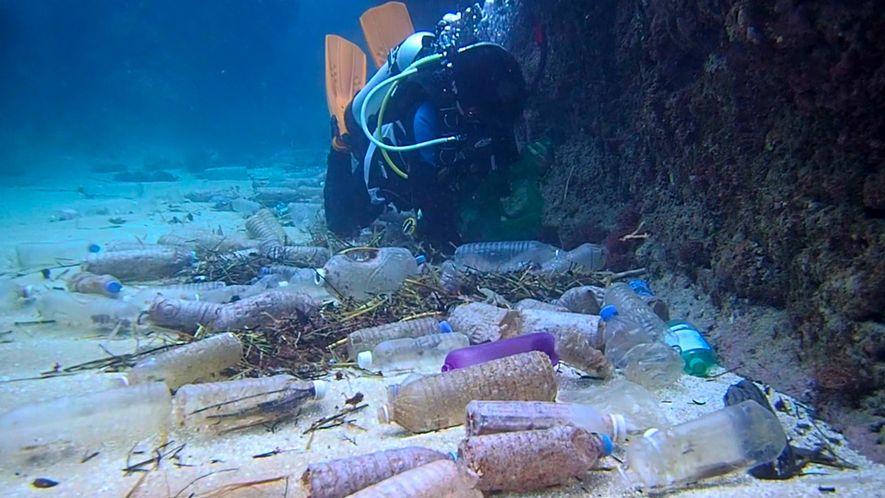 Voici la quantité de plastique qui recouvre le fond des océans.