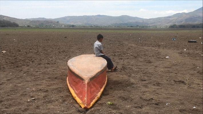Le lac guatémaltèque qui a lentement disparu