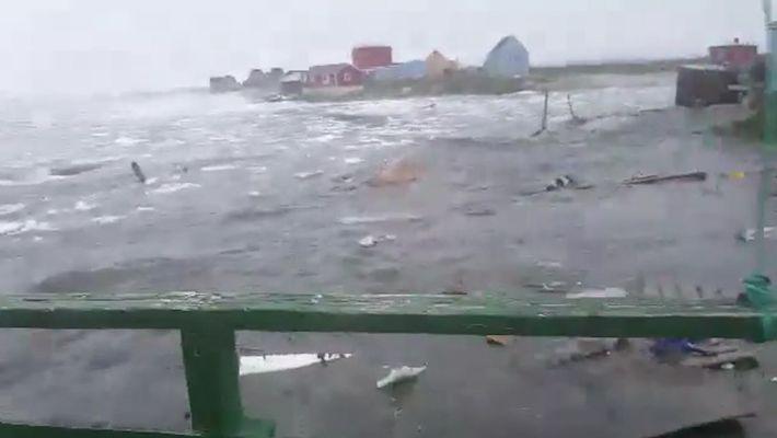 Un tsunami a frappé le Groenland