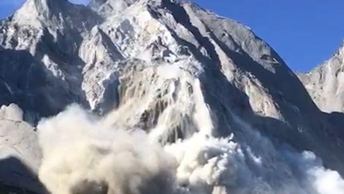 Une avalanche frappe la Suisse