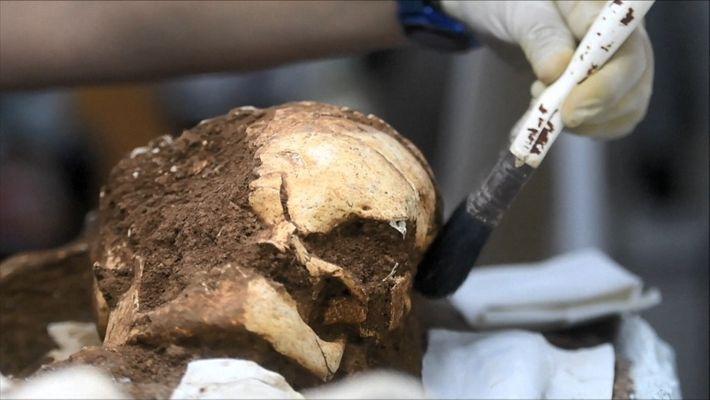 Des squelettes de 2500 ans ont été mis au jour