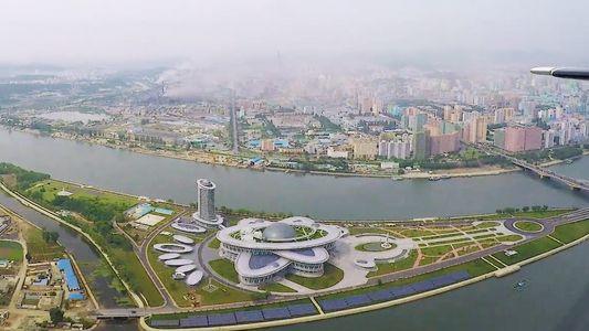 Pyongyang vu du ciel