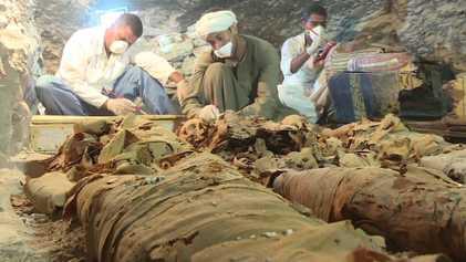 Un tombeau de 3 500 ans a été découvert en Égypte