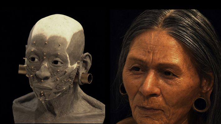 Le visage d'une reine huari reconstitué 1200 ans après sa mort