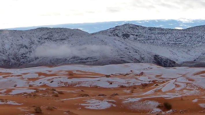 La neige au Sahara