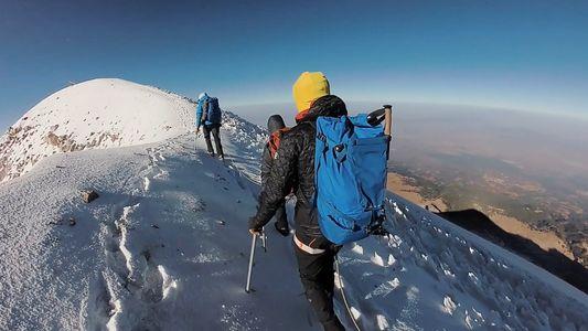 L'ascension du plus haut volcan d'Amérique du Nord.