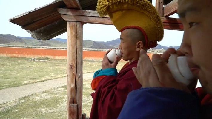 Des millénials se font moines dans la tradition ancestrale mongole.