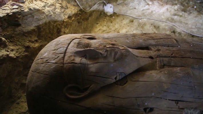 De nouveaux tombeaux égyptiens livrent leurs secrets