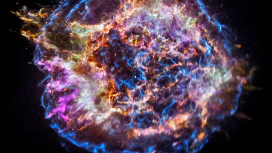 Les rémanents d'une extraordinaire Supernova.