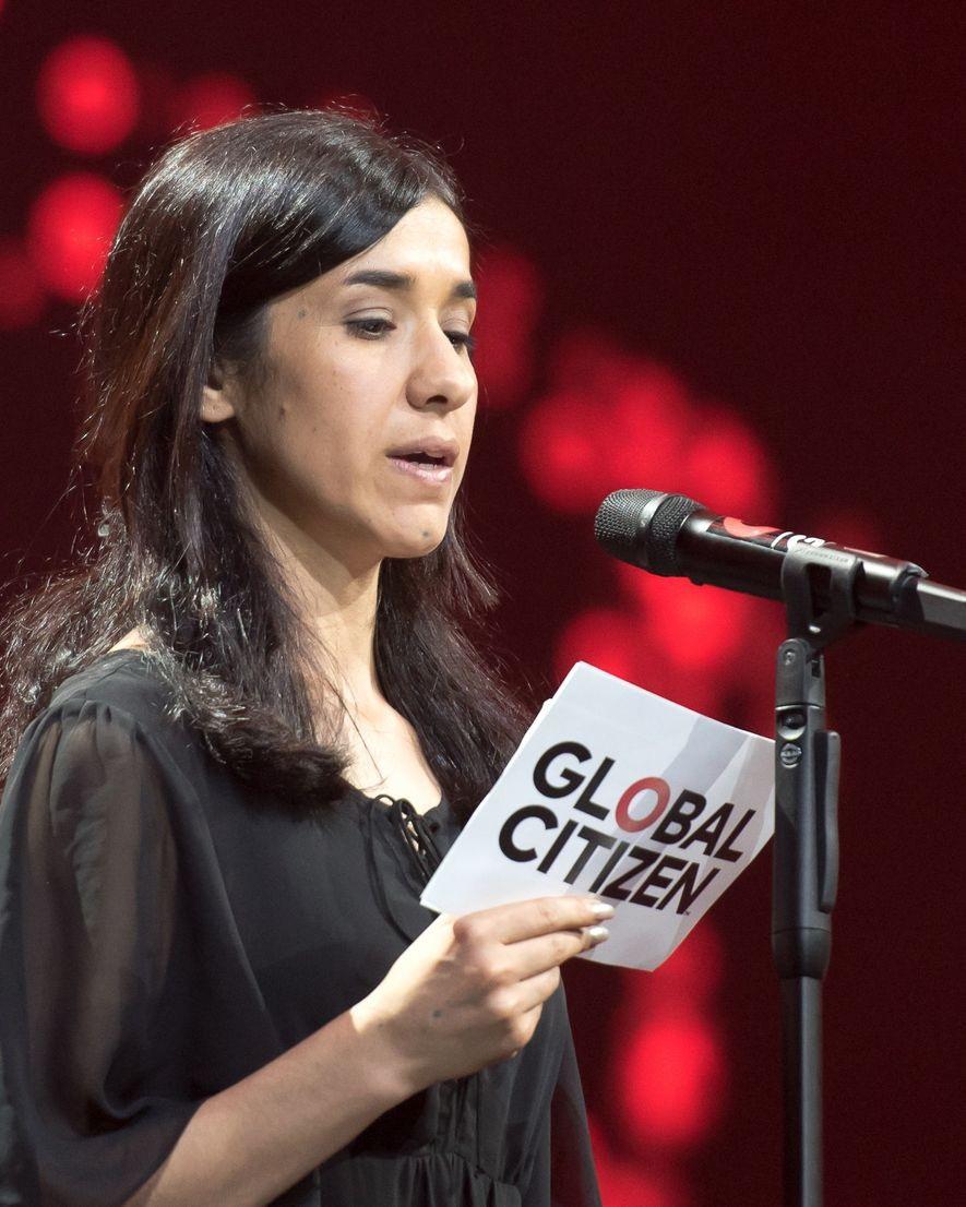 Nadia Murad en juillet 2017