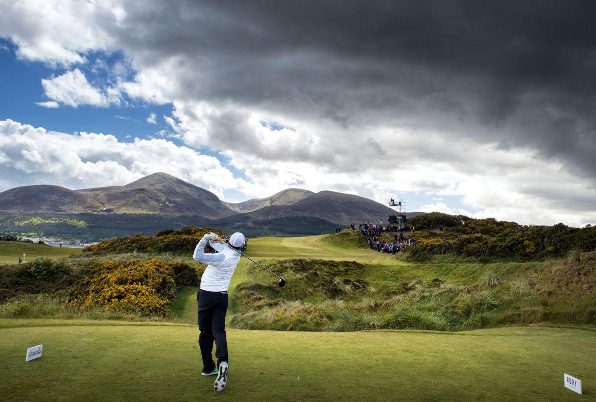 « Je suis fan de golf et j'y joue, confie le photographe. En 2015, j'ai eu ...
