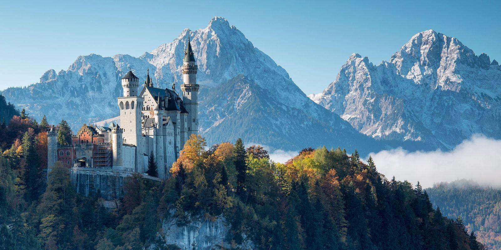 Château de Neuschwanstein : voyage au pays des contes de fées