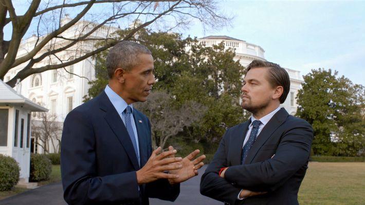 Avant le déluge - Leonardo DiCaprio rencontre Barack Obama