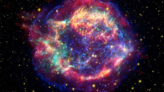 Supernova : le cœur d'une étoile observé après son explosion