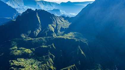 Le cirque de Mafate, cœur sauvage de l'île de La Réunion
