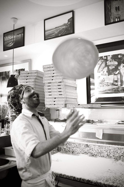 La pizza est l'autre incontournable de la cuisine italienne.