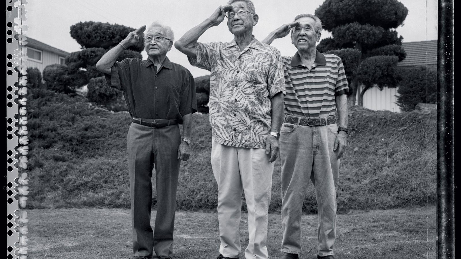 En 2013, Paul Kitagaki Jr. a retrouvé trois hommes d'origine japonaise internés de force en 1943 ...