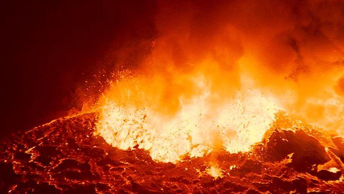 Comprendre : les supervolcans